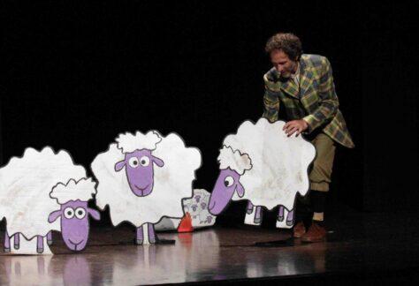 pecore in biciletta